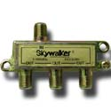 TV antenna 3 way signal splitter