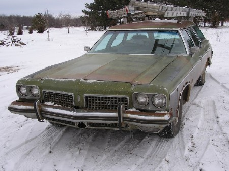 1973 OLDSMOBILE CRUISER
