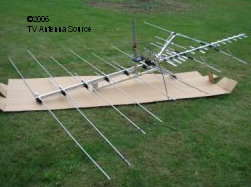 fold out tv antenna elements