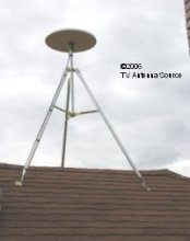 Tripod mount-Winegard MS 2000 TV Antenna