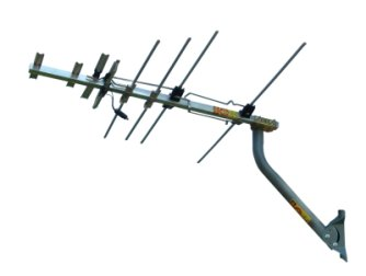 EZ-HD antenna with J-pole mounting arm