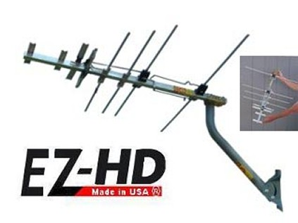 EZ HD antenna, made in the USA